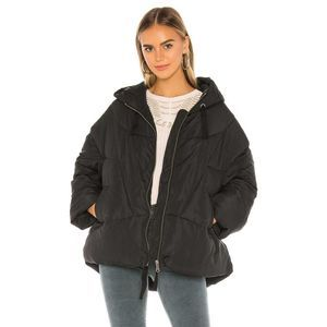 Free People Hailey Drawstring Hood Puffer Jacket